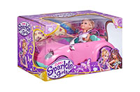 SPARKLE GIRLZ SET PRINCESA+VOZILO 27CM ŠK.00588